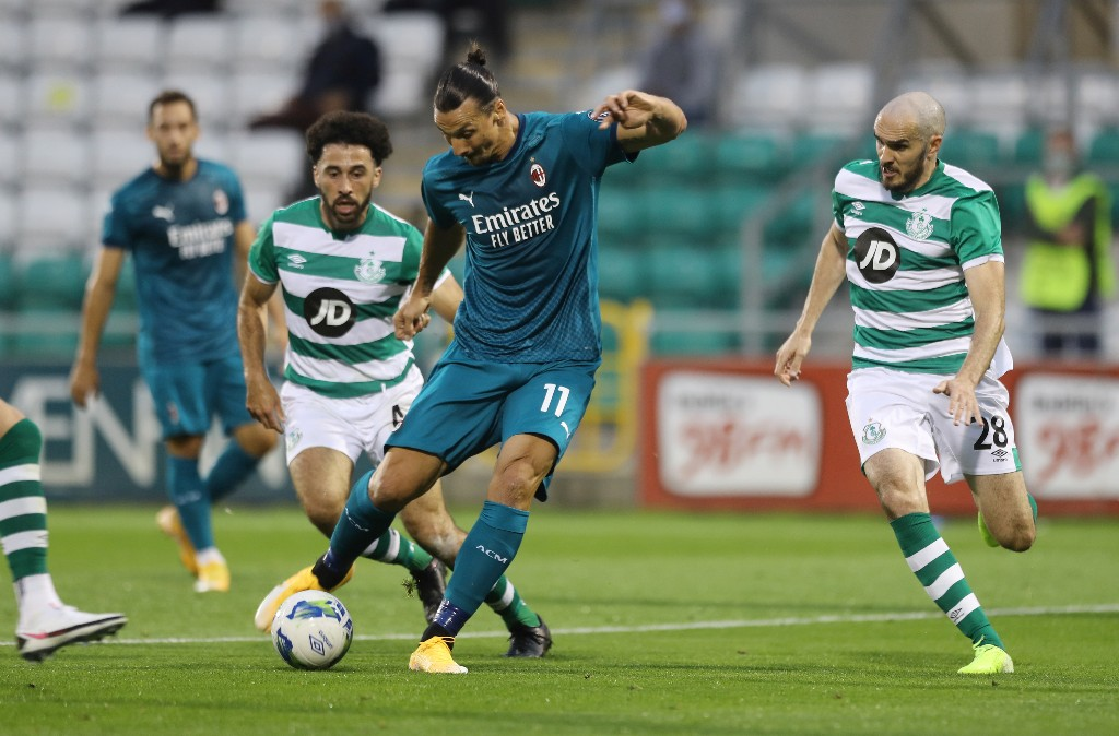 Ibrahimovic shrugs off positive COVID-19 test