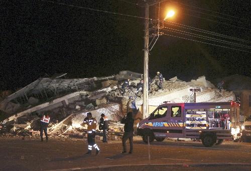 At least 14 dead, 315 hurt in earthquake in eastern Turkey