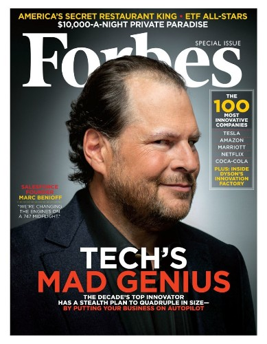 Nonstop Benioff: Inside The Master Networker's Audacious Plan To Disrupt Salesforce -- And The World