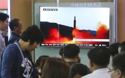 North Korea fires medium-range missile in latest weapon test