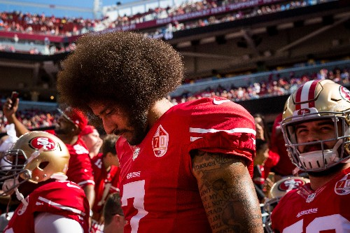 U.S. quarterback Kaepernick settles grievance case with NFL