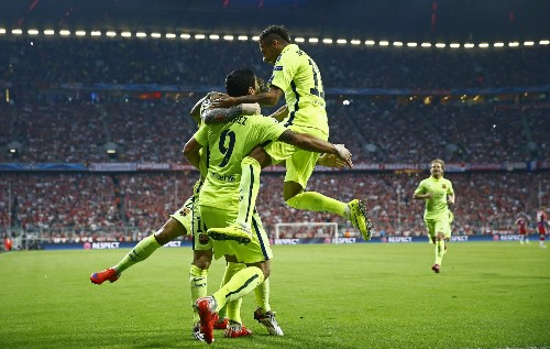 Barcelona Knocks Out Bayern Munich