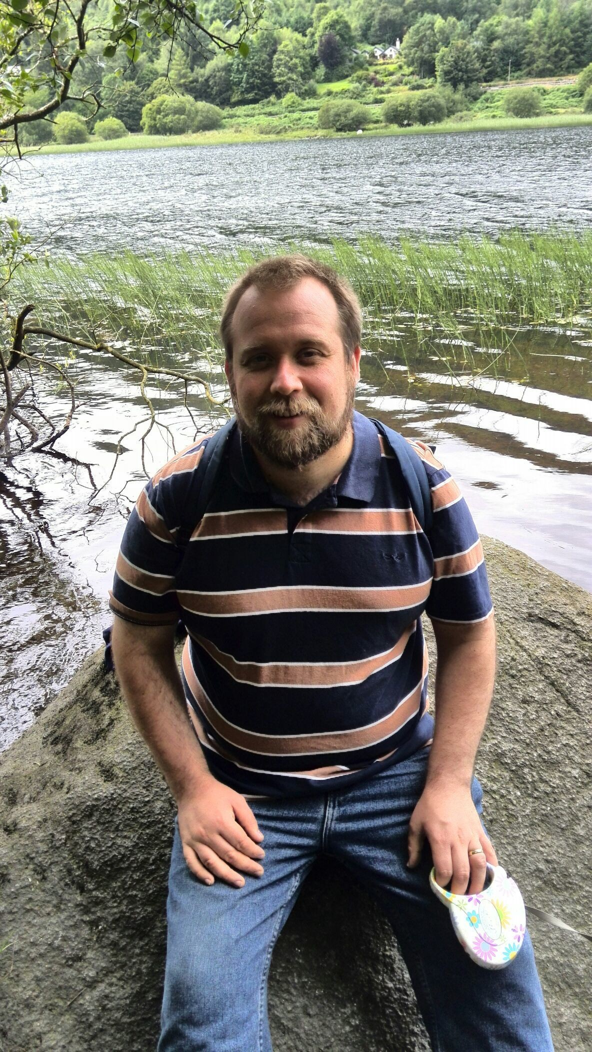 Me at the lake in glendalough