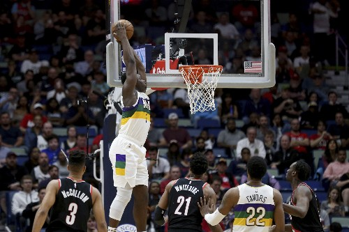 Williamson's 31 points pushes Pelicans past Blazers, 138-117
