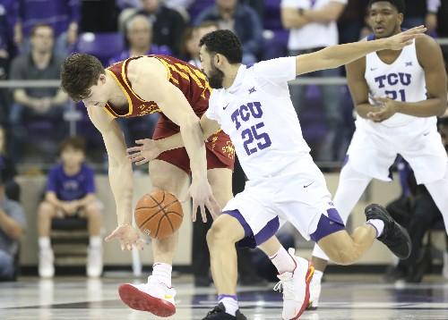 Noi, Robinson post double-doubles as TCU upsets No. 19 Iowa State