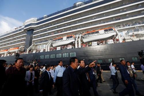 Wandering ship becomes 'best cruise ever' despite coronavirus fears