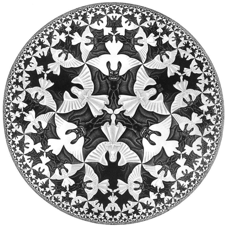 Happy b day MC Escher