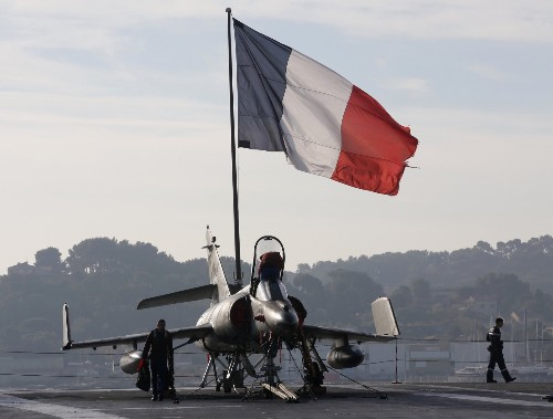 France Deploys Aircraft Carrier Charles de Gaulle: Pictures