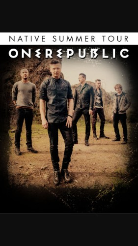 One Republic - Magazine cover