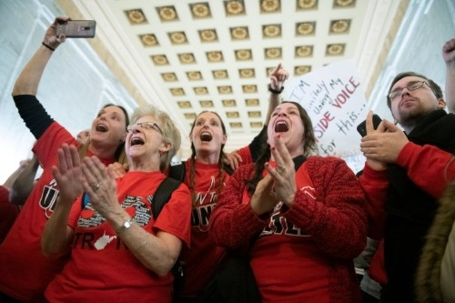 West Virginia teachers to continue strike, in charter schools fight