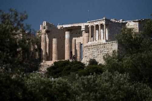 Les changements climatiques affectent les monuments grecs