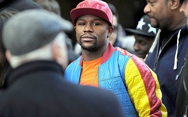 Money-grabbing Floyd Mayweather is just a blinged-up David Brent