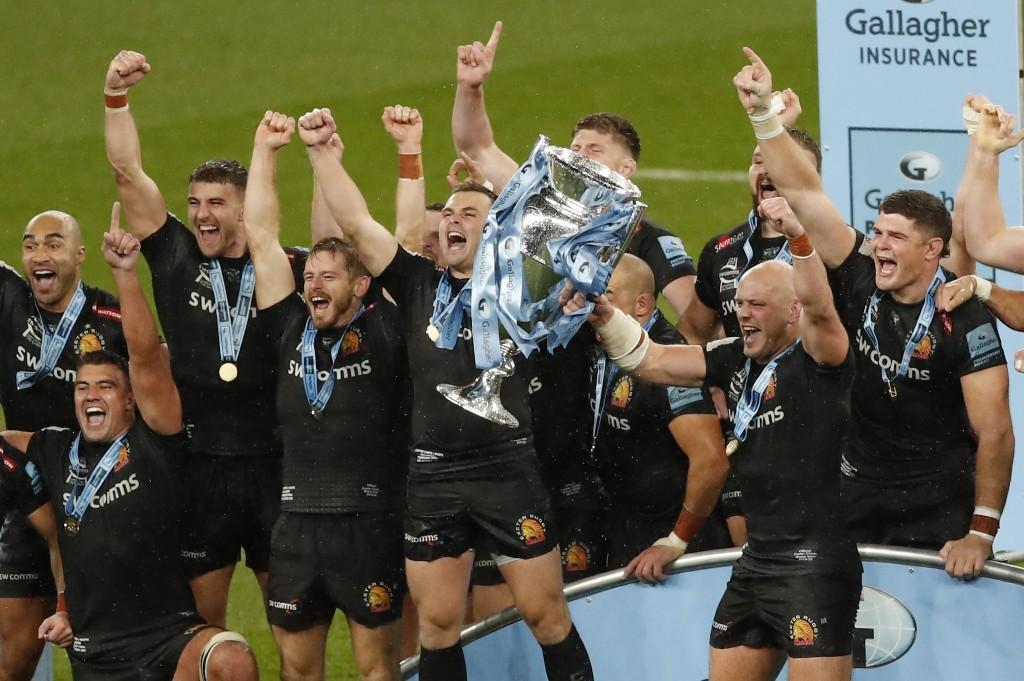 Premiership : Exeter champion d'Angleterre