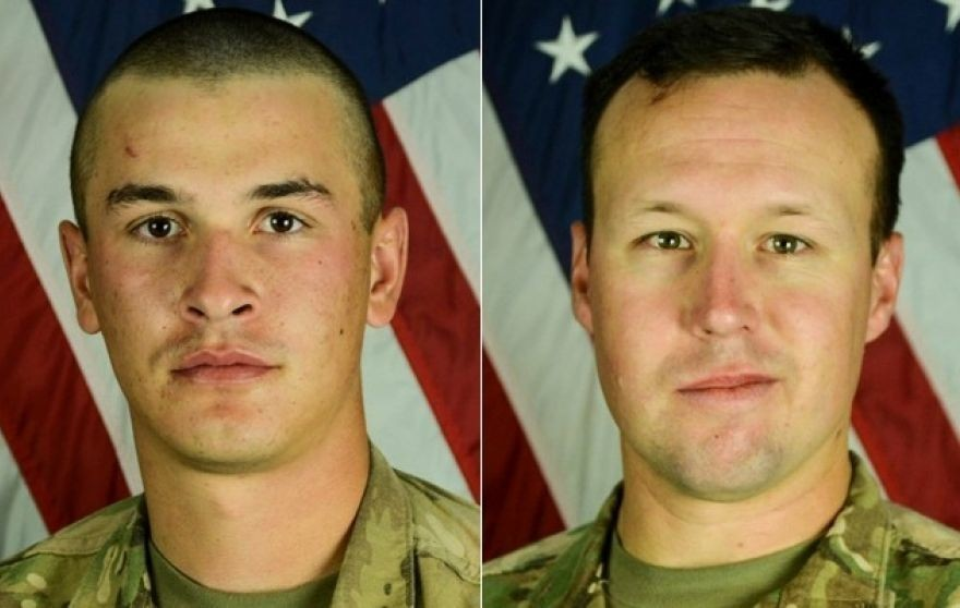 US soldiers killed in suicide bombing at Bagram Airfield identified