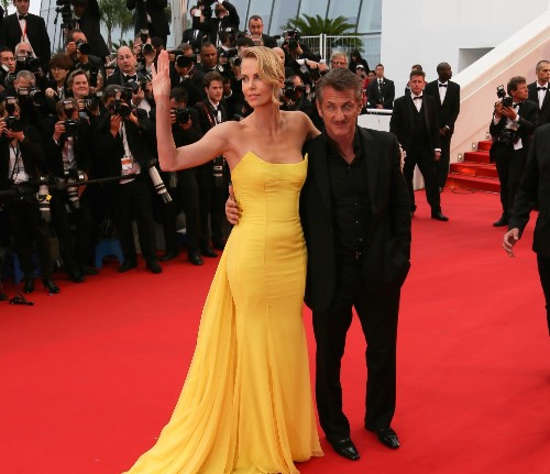 Charlize Theron and Sean Penn Light Up the Red Carpet at Cannes