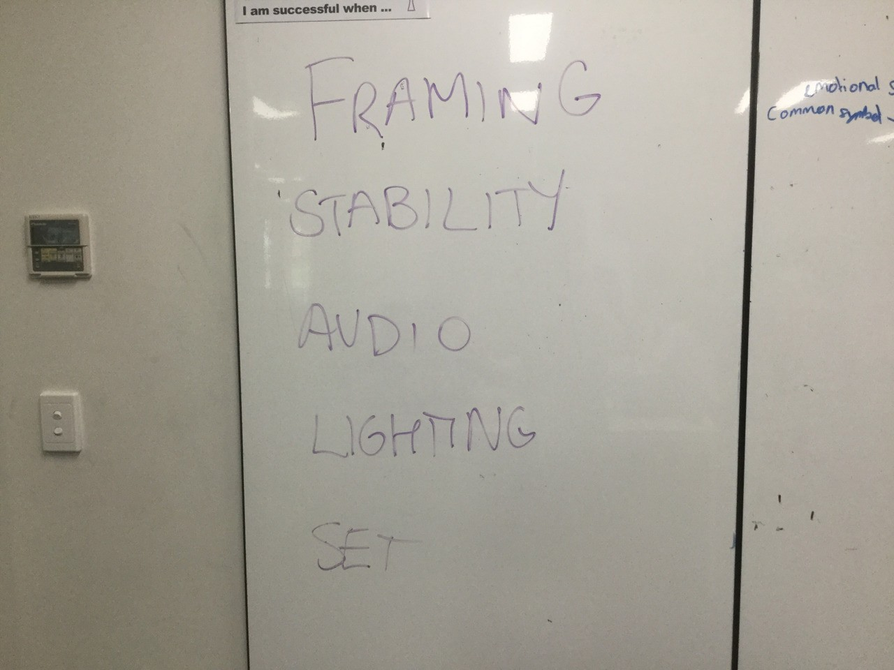 Important things to remember while recording a video