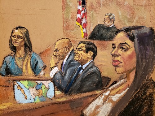 Ex-mistress of 'El Chapo' says she was 'traumatised' by tunnel escape