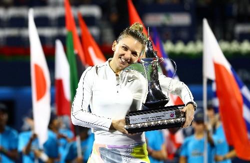 Halep survives Rybakina onslaught to win Dubai title