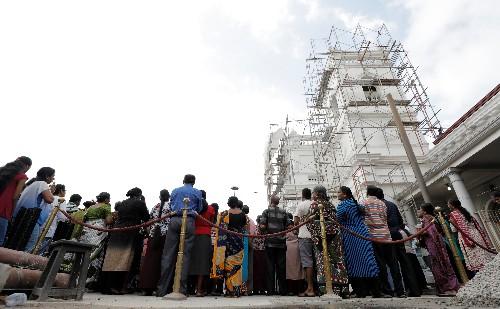 Sri Lanka erwartet nach Anschlag geringeres Wirtschaftswachstum