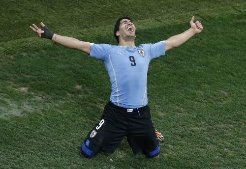 Uruguay, Colombia Dominate: Photo Gallery