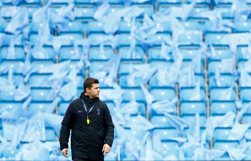 Soccer: Spurs can defy odds to upset 'favourites' Manchester City, says Pochettino