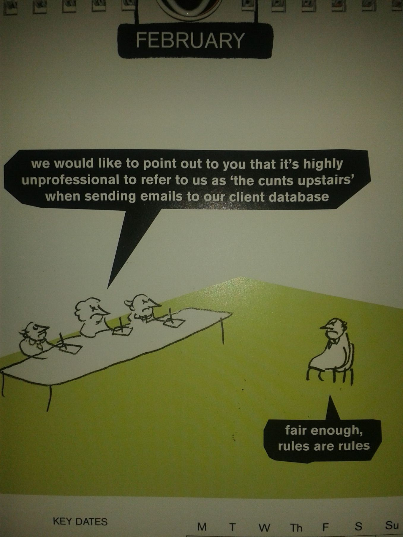 Modern Toss cartoon