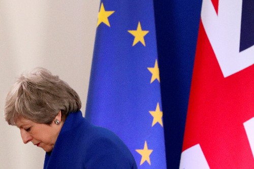 UK PM May to be told to quit by top Conservative: Sunday Times