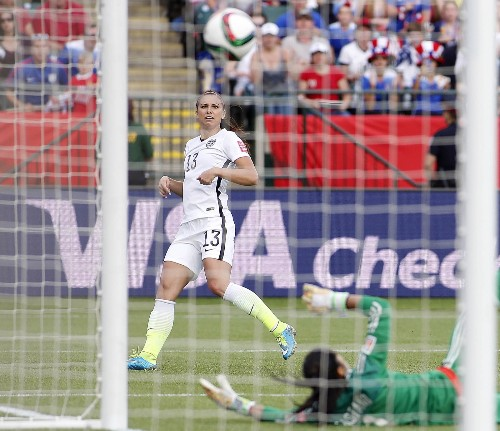 USA Defeats Colombia at Women's World Cup