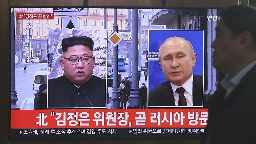 The Latest: Kim, Putin to meet Thursday in Russia's Far East