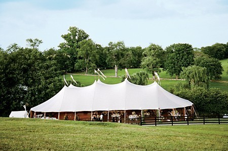 A Preppy Outdoor Wedding in Virginia's Horse Country
