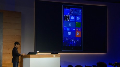 Windows 10's Mobile Debut Reveals Cross-Platform Features And Skype Integration