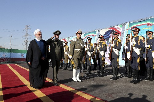 The Latest: Iran says it test fires 'new missile'