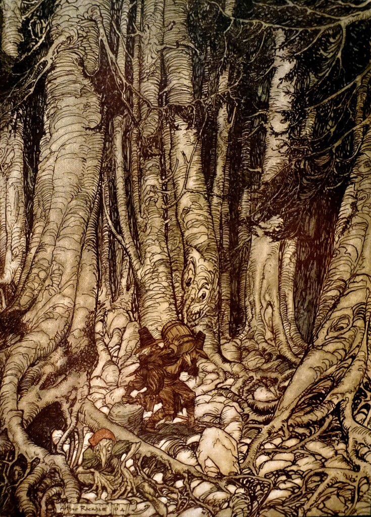 The Magical World of Arthur Rackham - cover