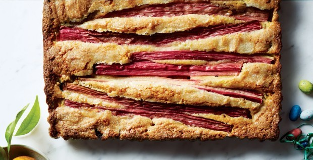 The Spring Dessert You Need: How to Make an Elegant Rhubarb-Almond Cake