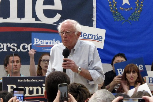 The Latest: Sanders claims Bloomberg will not excite voters