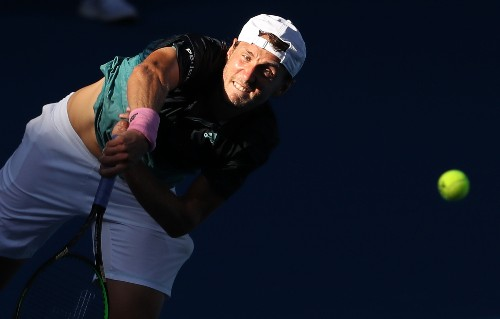 Tennis: Pouille edges Raonic to reach maiden grand slam semis