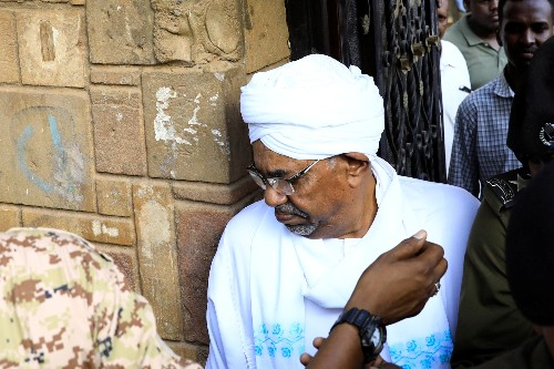 Sudan's Bashir charged on corruption in first public appearance since ouster