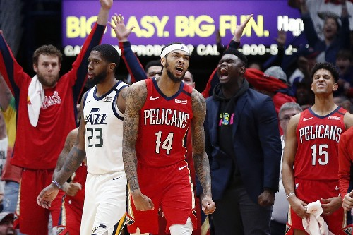 Ingram scores 49, Pelicans end Jazz's 10-game winning streak