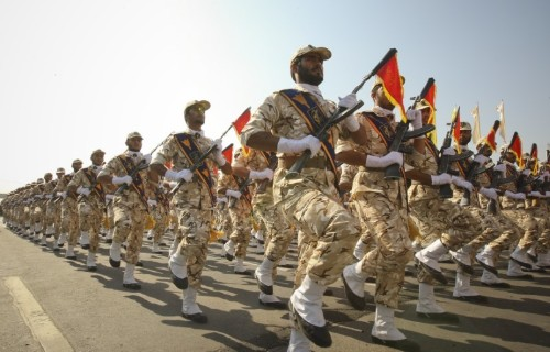U.S. officially designates Iran's Revolutionary Guards a terrorist group