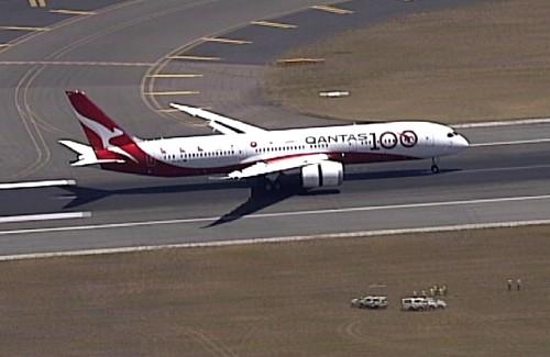 Australia's Qantas operates 19 ½ hour London-Sydney flight