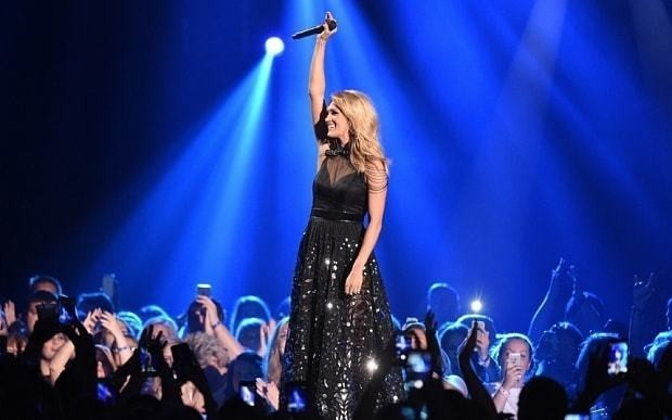 Carrie Underwood sweeps the board at the CMT music awards