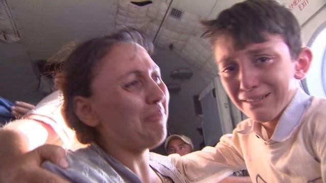 'Heroic' mission rescues desperate Yazidis