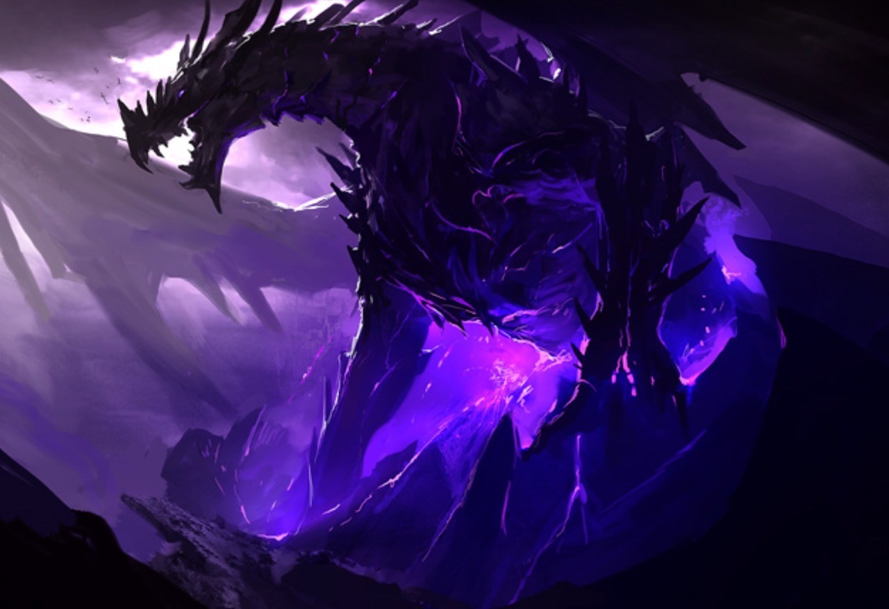 This is what the ender dragon would look like if Minecraft was in real life