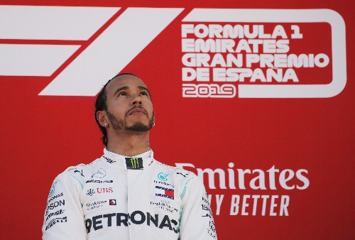 Hamilton says Lauda was a 'bright light' in his life