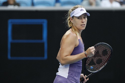 Pavlyuchenkova ousts former champion Kerber to reach quarters