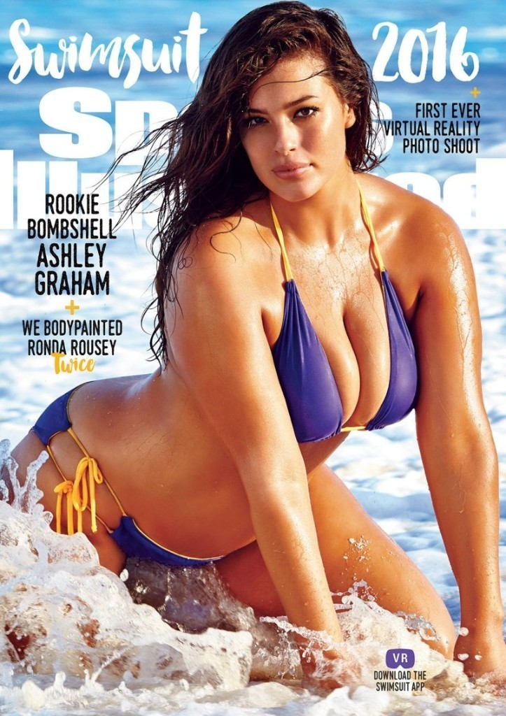 Meet Ashley Graham, the Sports Illustrated Swimsuit Issue's First 'Plus-Size' Cover Girl