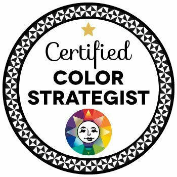 Great news! After completing a color course through Camp Chroma, I'm now a Certified Color Strategist.