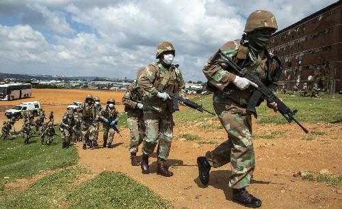 Virus prevention measures turn violent in parts of Africa