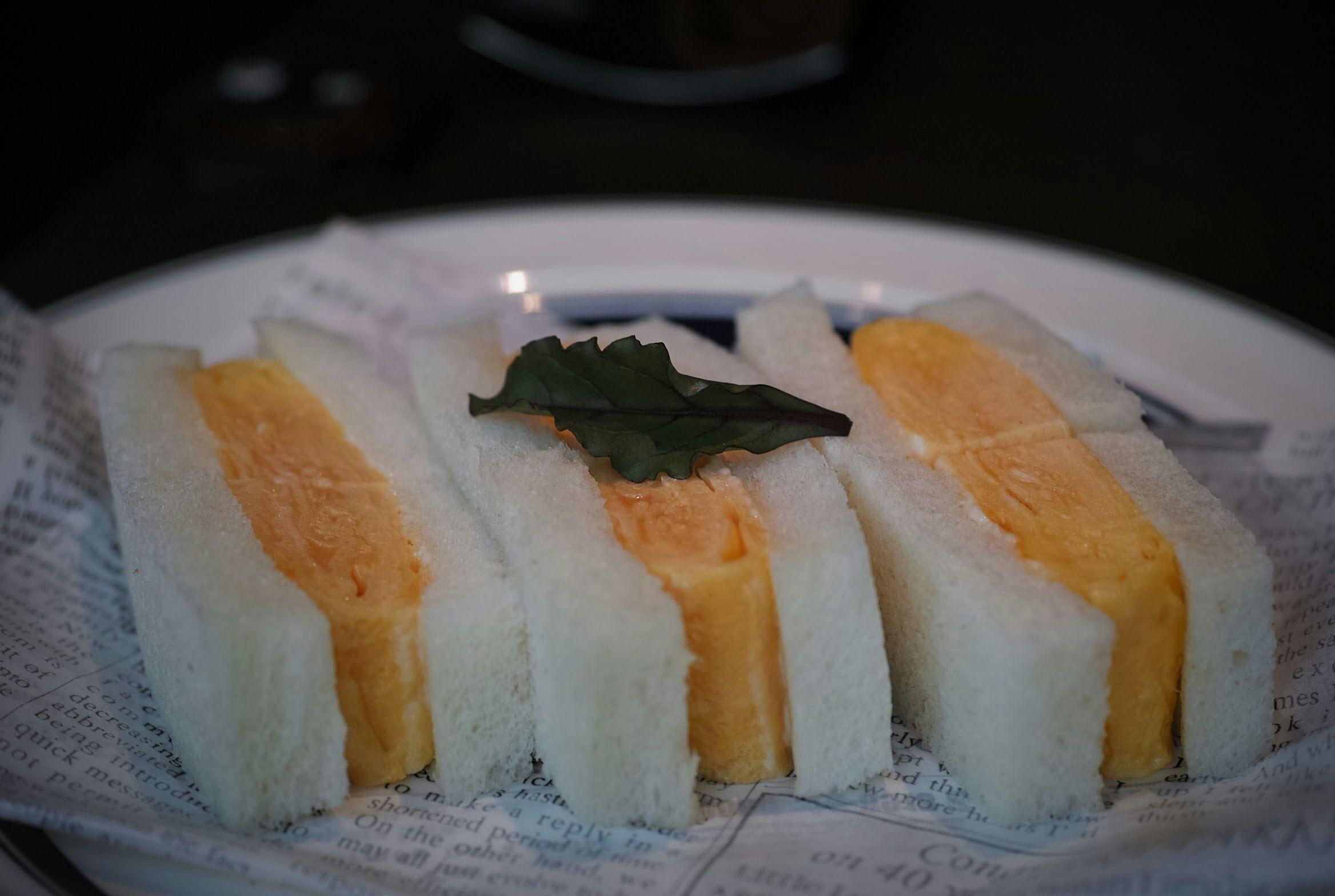 銀座珈琲店 / オムレツサンド