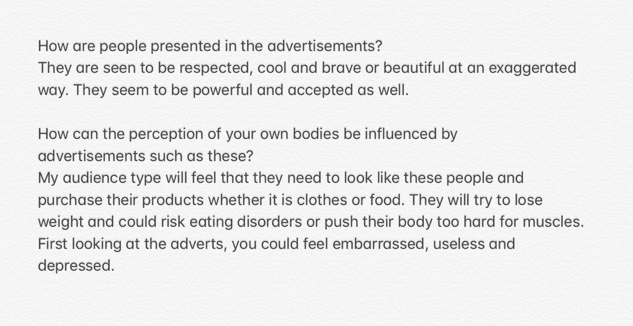 Advertisement responses